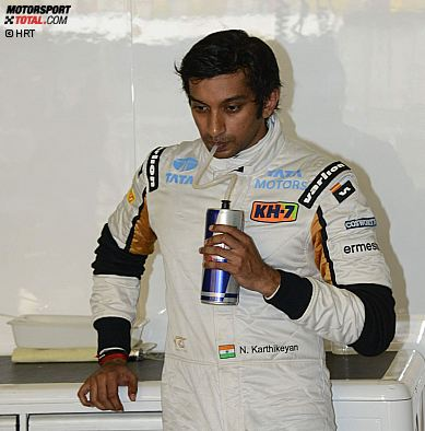 Narain Karthikeyan (HRT)