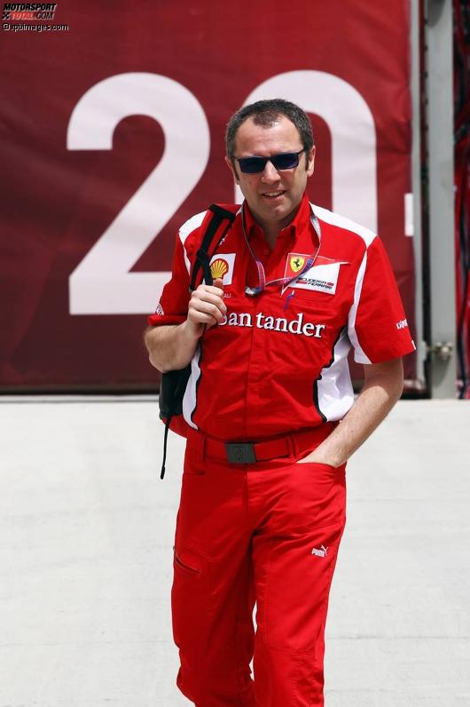 Stefano Domenicali (Teamchef) von Ferrari