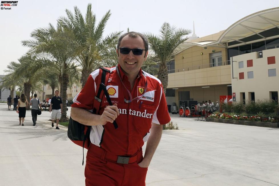 Stefano Domenicali (Teamchef) (Ferrari)