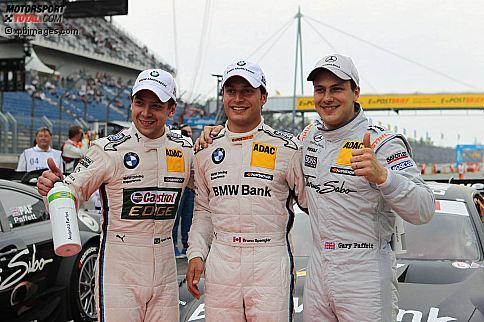 Augusto Farfus (BMW Team RBM) Bruno Spengler (Schnitzer) Gary Paffett