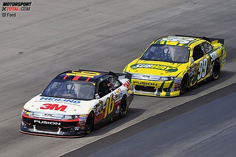 Matt Kenseth (Roush) und Carl Edwards (Roush)