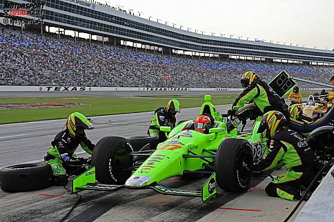James Hinchcliffe (Andretti) und Ryan Hunter-Reay (Andretti)