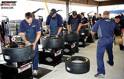 Die Goodyear-Reifen stehen am Michigan-Wochenende im Mittelpunkt