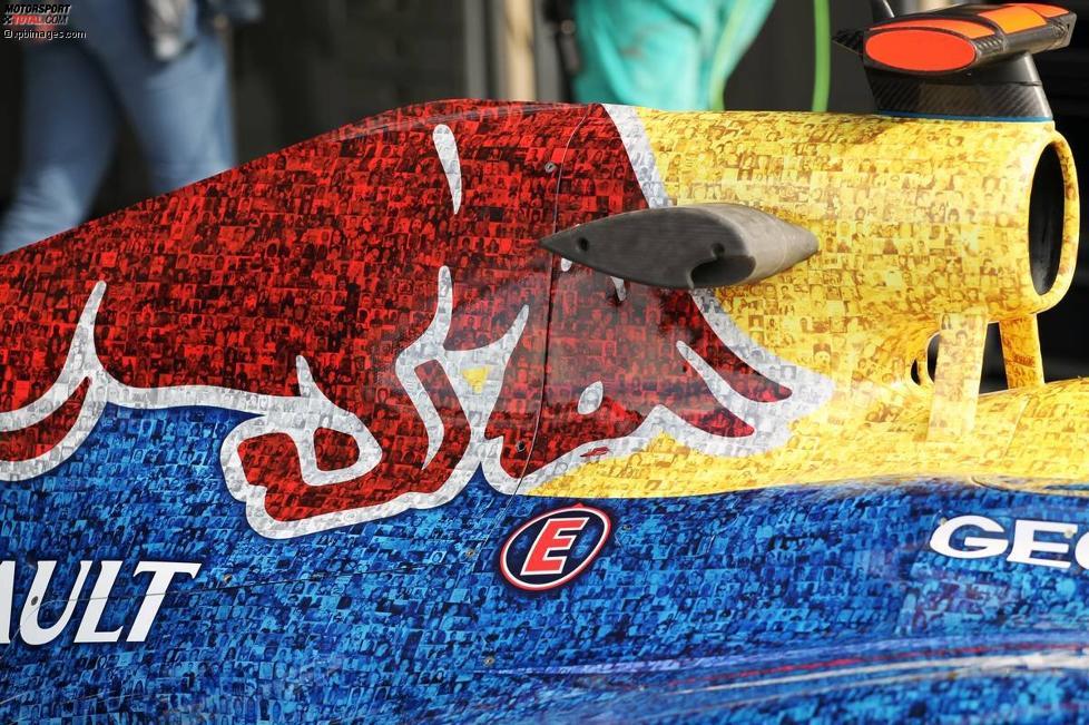 Finden Sie Ihr Gesicht auf dem Silverstone-Red-Bull?
