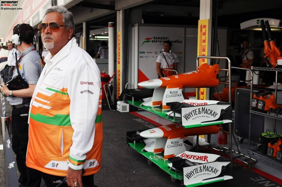 Vijay Mallya (Teameigentümer, Force India)