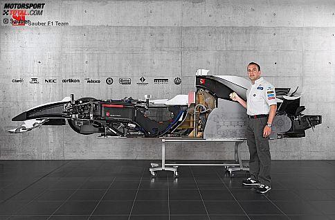 Sports Motorsports Auto Racing Formula  on Der  Aufgeschnittene  Sauber   Formel 1 Bei Motorsport Total Com