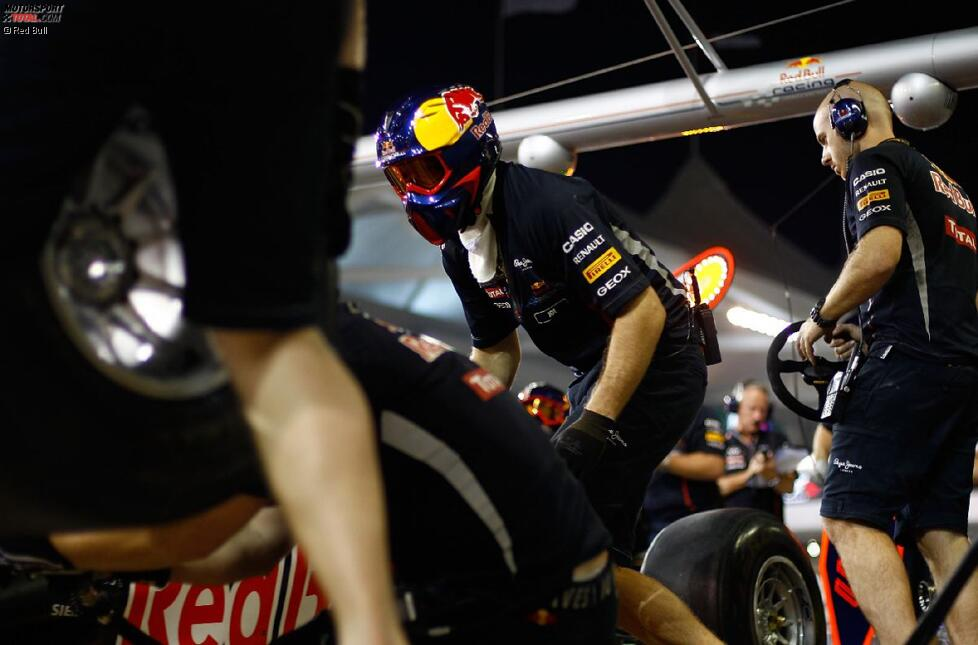 Boxenstopp-Training bei Red Bull