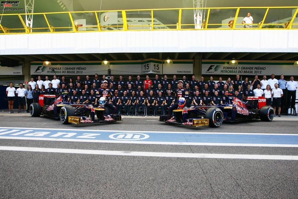 Toro Rosso: Teamfoto zum Jahresabschluss
