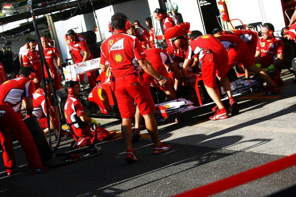 Boxenstopp-Simulation: Ferrari übt für die WM-Entscheidung