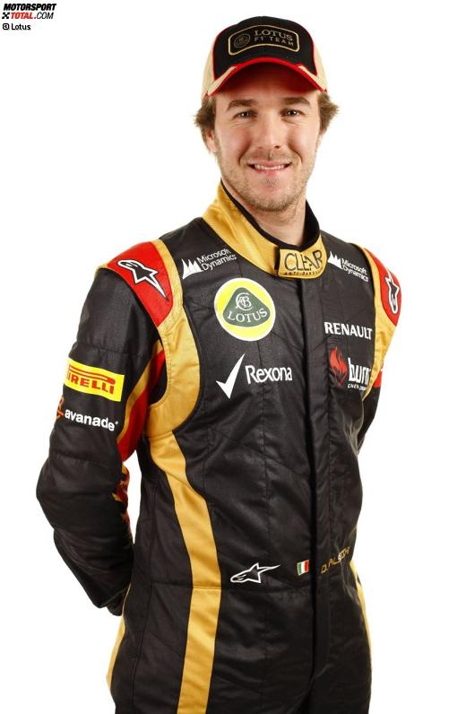 Testfahrer Davide Valsecchi