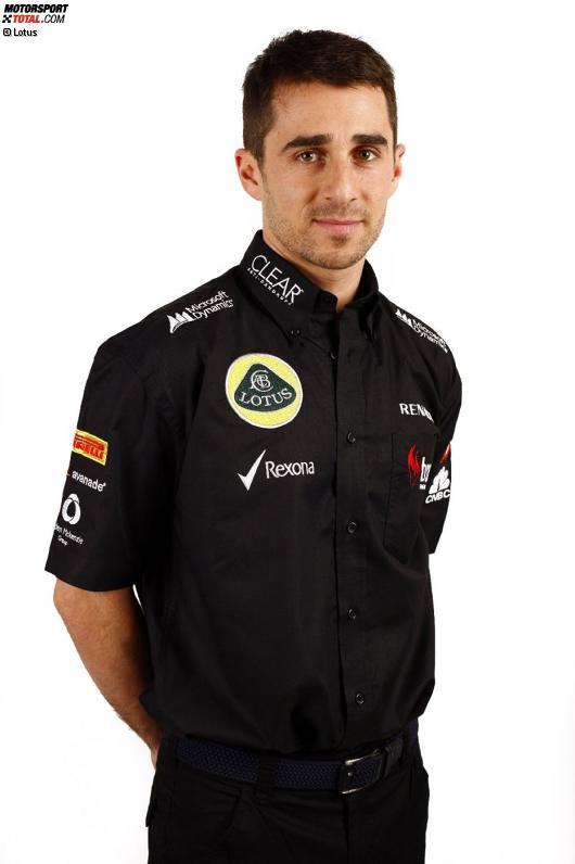 Testfahrer Nicolas Prost