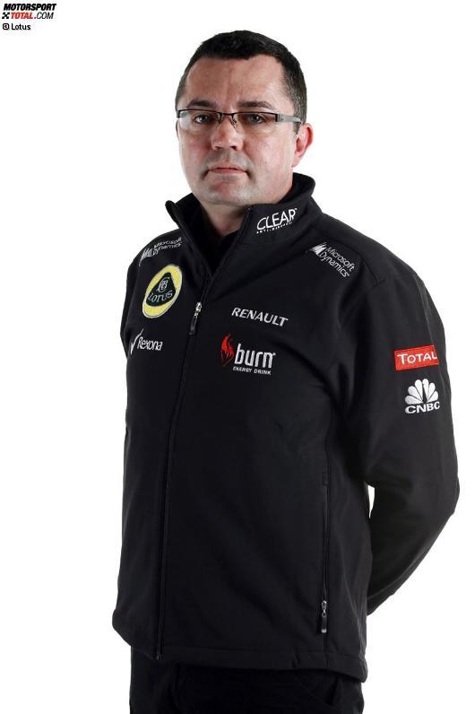 Teamchef Eric Boullier