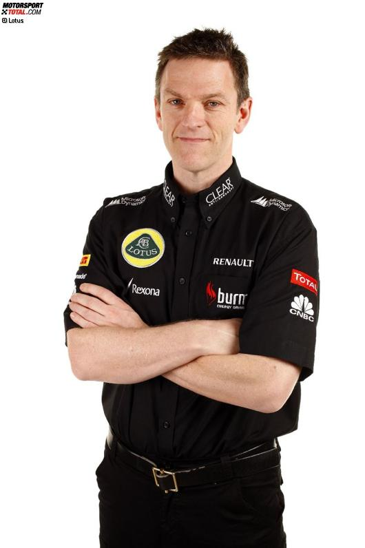 Technikchef James Allison