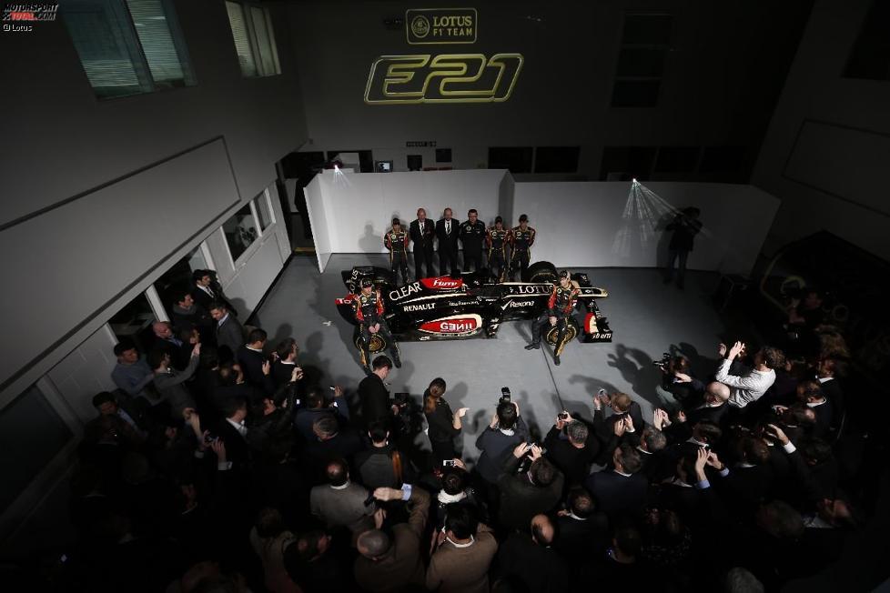 Präsentation des Lotus E21 in Enstone