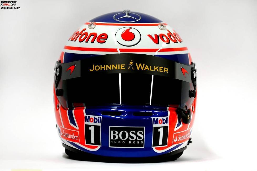 Helm von Jenson Button (McLaren)