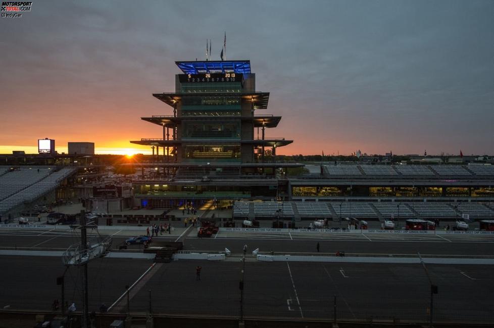 Indy in der Morgendämmerung