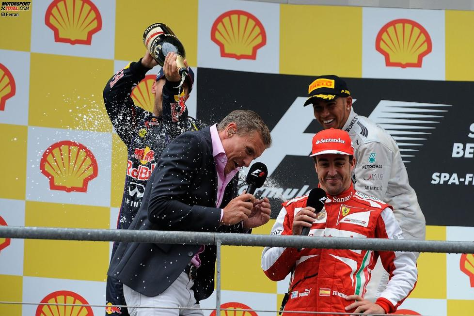 David Coulthard und Fernando Alonso (Ferrari)