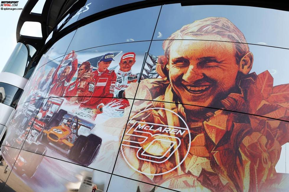 McLaren feiert das 50-jährige Firmenjubiläum