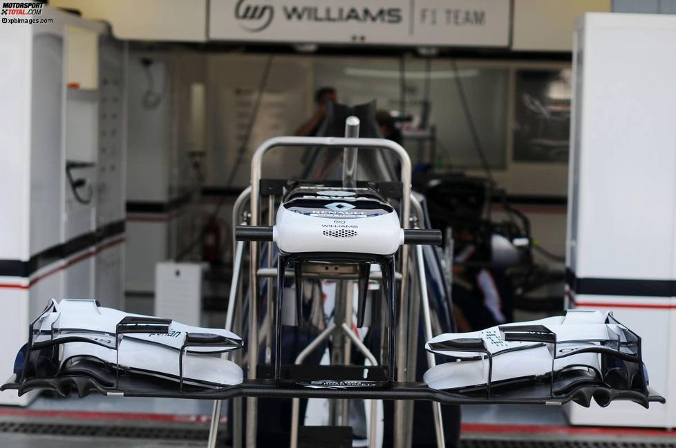 Vorbereitungen bei Williams