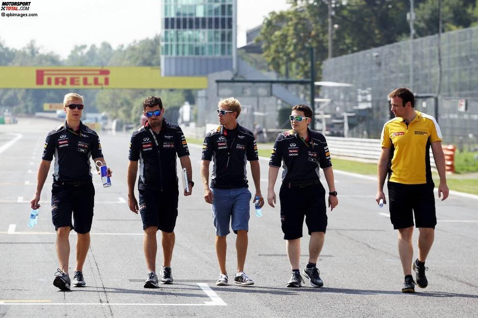 Red Bull beim Track-Walk