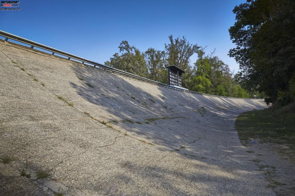 Die alte Steilkurve in Monza