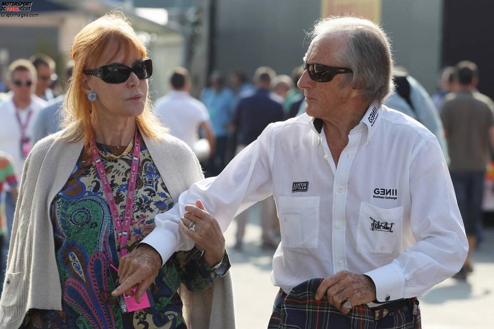 Jackie Stewart mit seiner Frau