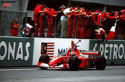 Schumacher-Ferrari in New York für 7,5 Millionen Dollar versteigert