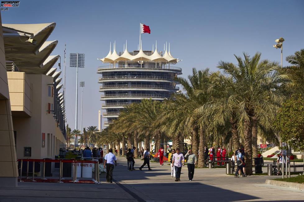 Paddock in Bahrain