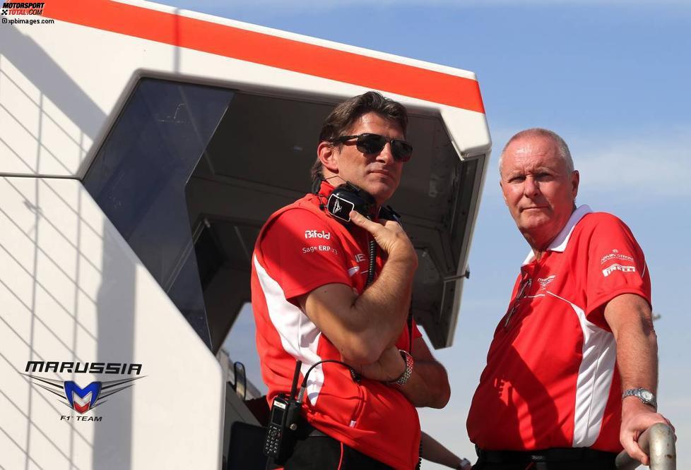 Graeme Lowdon und John Booth (Marussia)