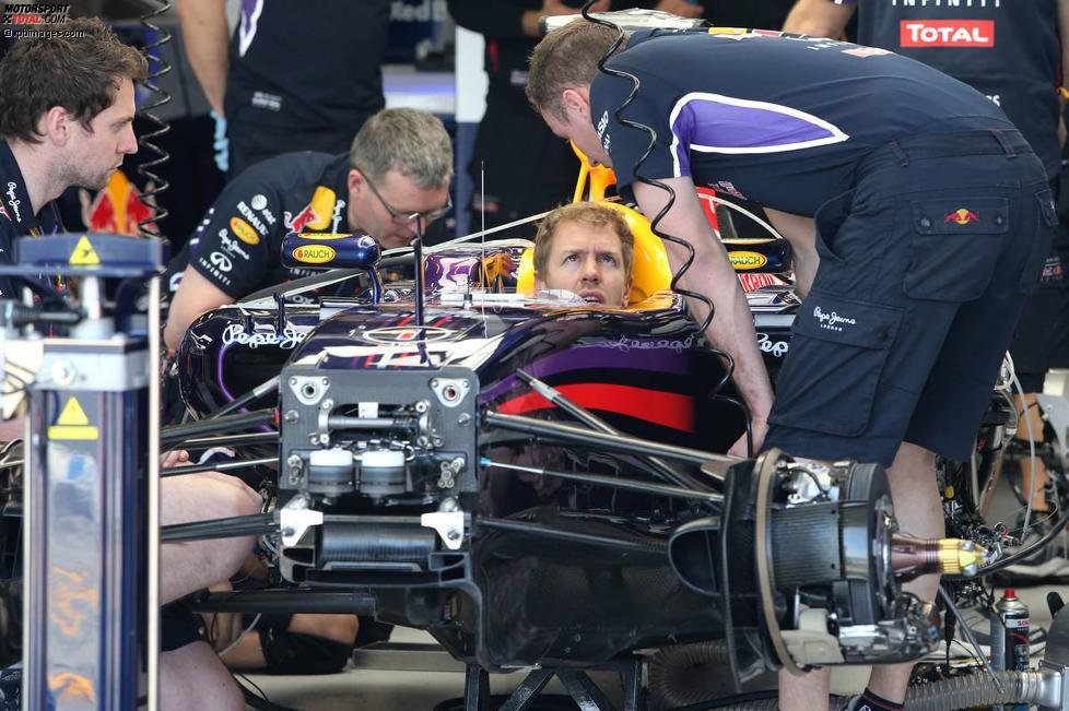 Auto von Sebastian Vettel (Red Bull)