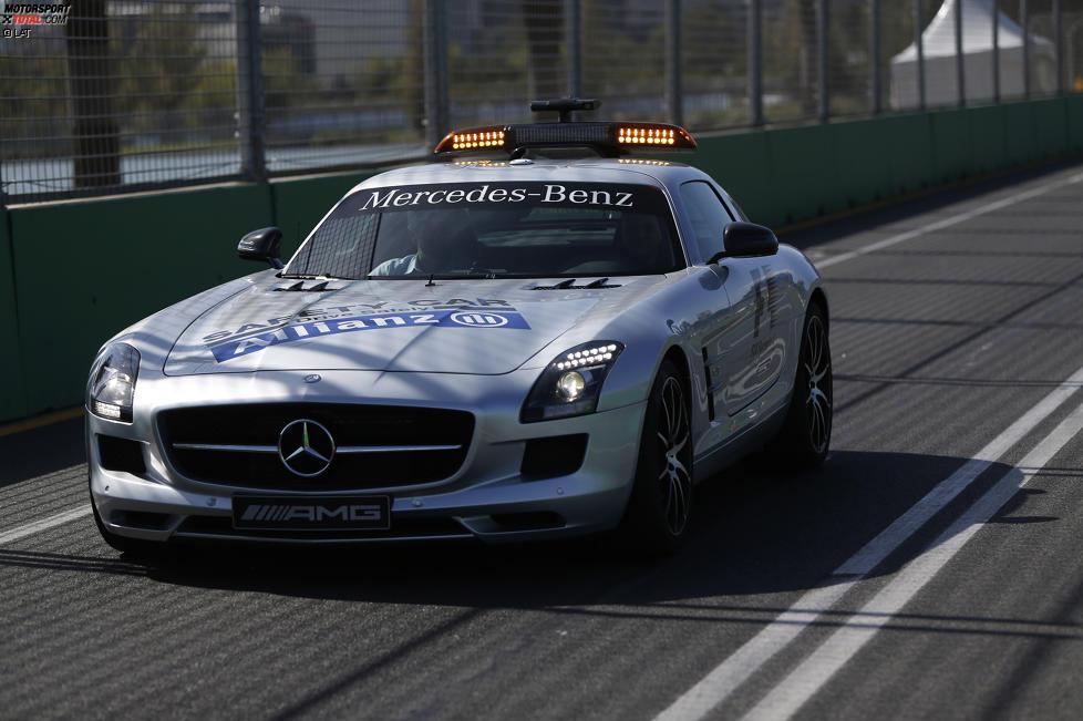 Safety-Car beim Tracktest