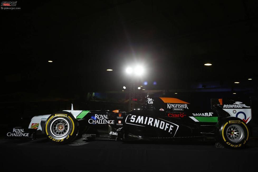 Neue Force-India-Lackierung vor Barcelona