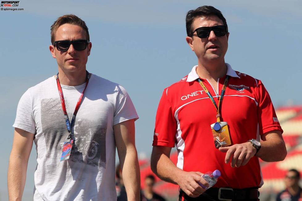 Adam Carroll und Dave O'Neill (Marussia)