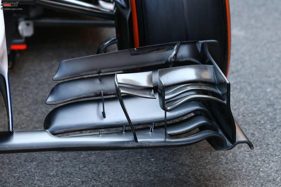 Frontflügel des Williams FW36