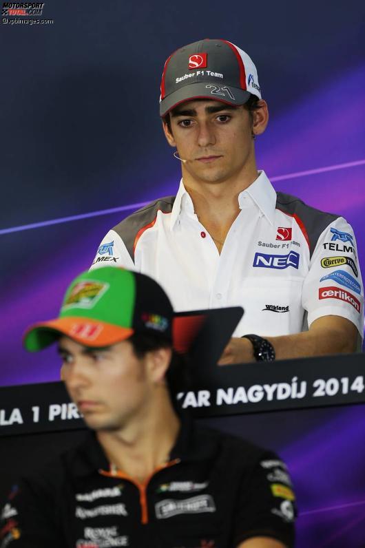 Viva Mexiko: Esteban Gutierrez (Sauber) und Sergio Perez (Force India)