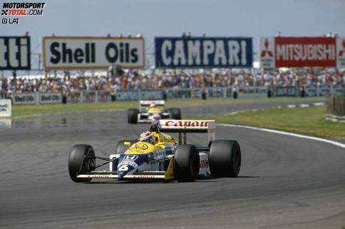 Triumph durch k.o.: Piquet wird dank Mansells Unfall in Suzuka Champion