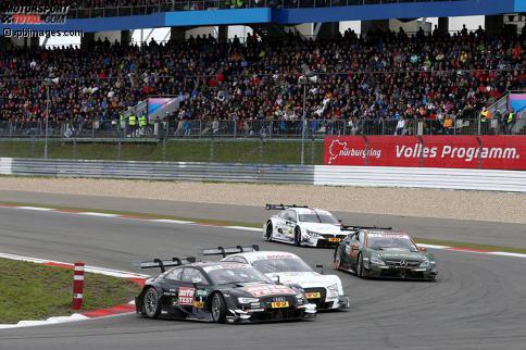 Timo Scheider (Phoenix-Audi) und Nico M?ller (Rosberg-Audi)