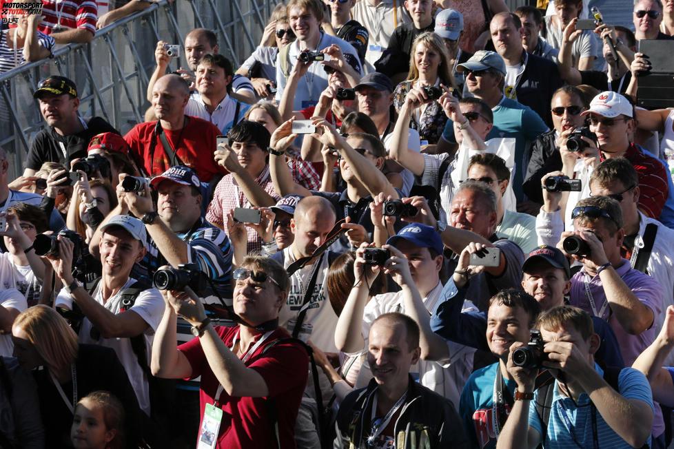 Fans in Russland