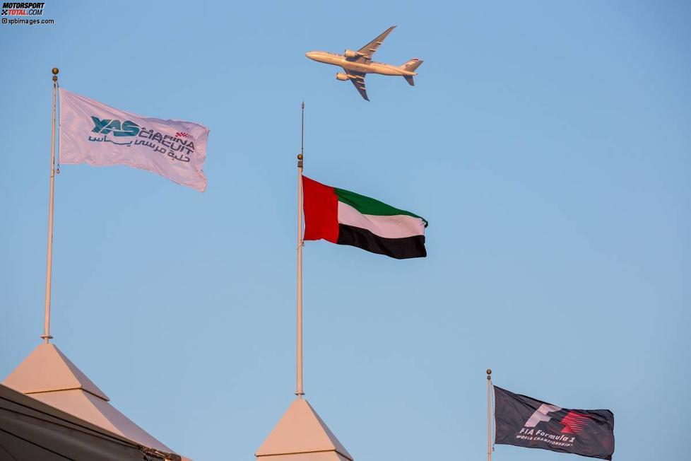 Demo-Testflug für das Rahmenprogramm am Rennsonntag
