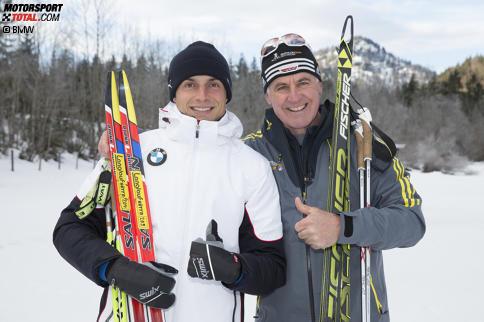 Bruno Spengler beim Biathlon