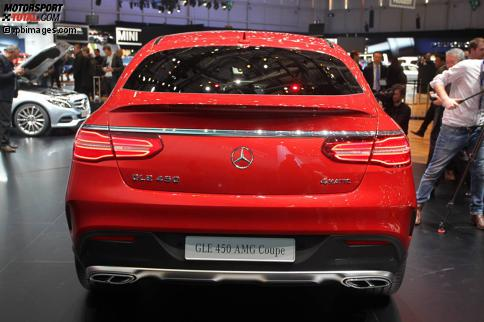 Mercedes cle 450 amg gt coupe genf 2015 highlights for Mercedes benz cle