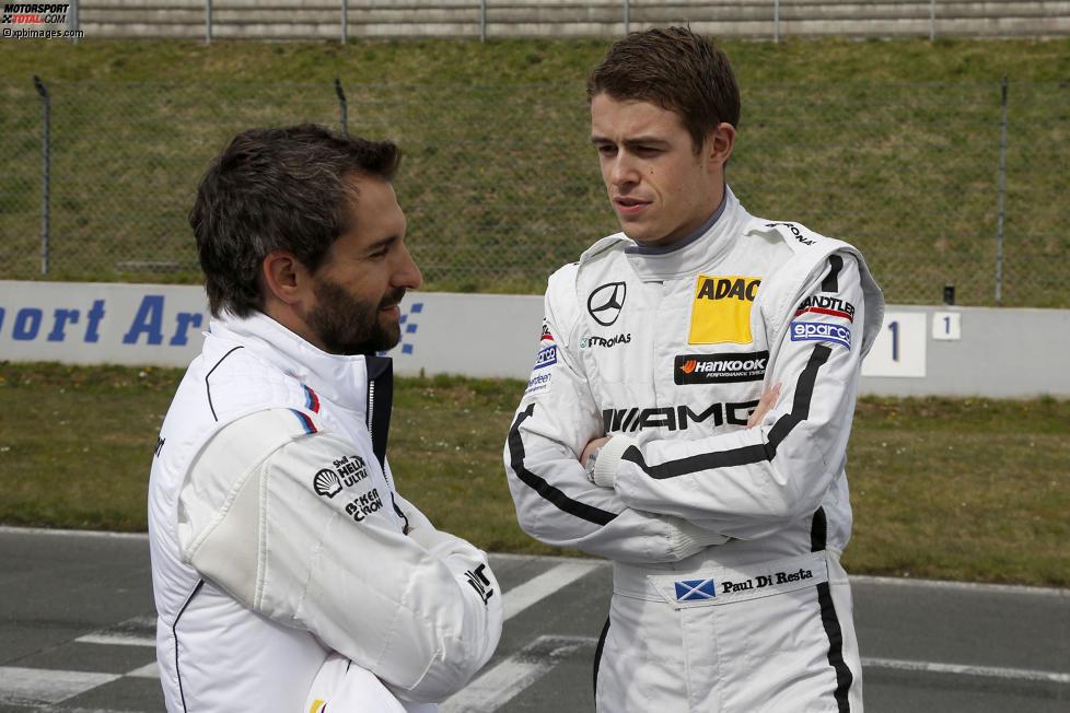 Timo Glock (MTEK-BMW) und Paul di Resta (HWA-Mercedes)