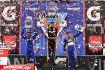 Das Fontana-Podium: Graham Rahal, Tony Kanaan und Marco Andretti