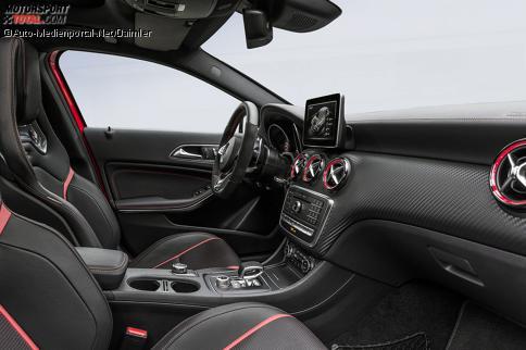 News mercedes benz a klasse facelift 2015 der junior for Mercedes a klasse amg interieur