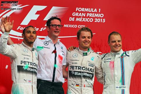 """Sehen sich diese beiden Herren wirklich ähnlich? Diese und weitere witzige Episoden jetzt in """"F1 Backstage"""": Klicken Sie sich durch!"""