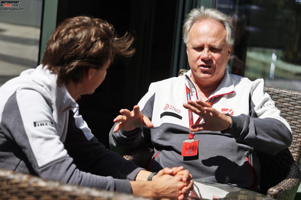 Esteban Gutierrez und Gene Haas (Haas)
