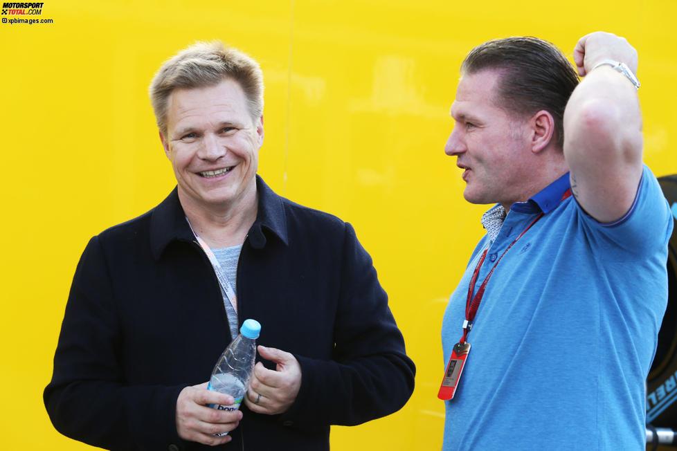 Mika Salo und Jos Verstappen