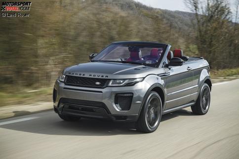 news das range rover evoque cabriolet ist da auto bei motorsport. Black Bedroom Furniture Sets. Home Design Ideas