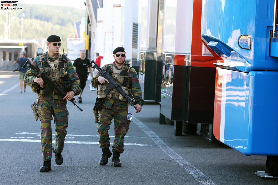 Militär wegen Terrorgefahr