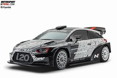 wrc 2017 hyundai zeigt den neuen i20 rallye bei motorsport. Black Bedroom Furniture Sets. Home Design Ideas
